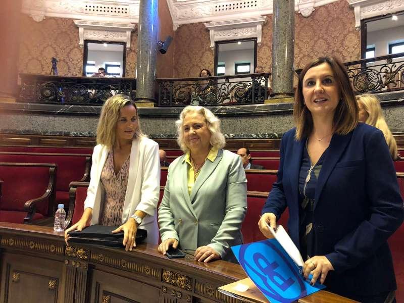 María José Catalá en la sesión extraordinaria del Pleno de organización del Ayuntamiento
