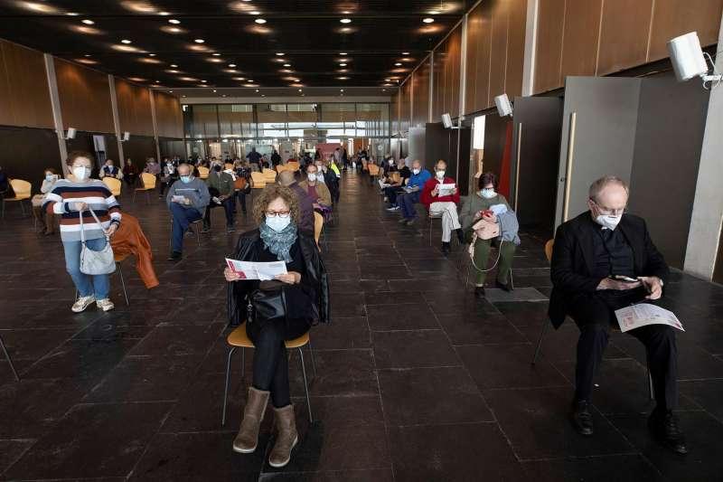 El Auditori i Palau de Congressos de Castelló donde se está llevando a cabo la vacunación.