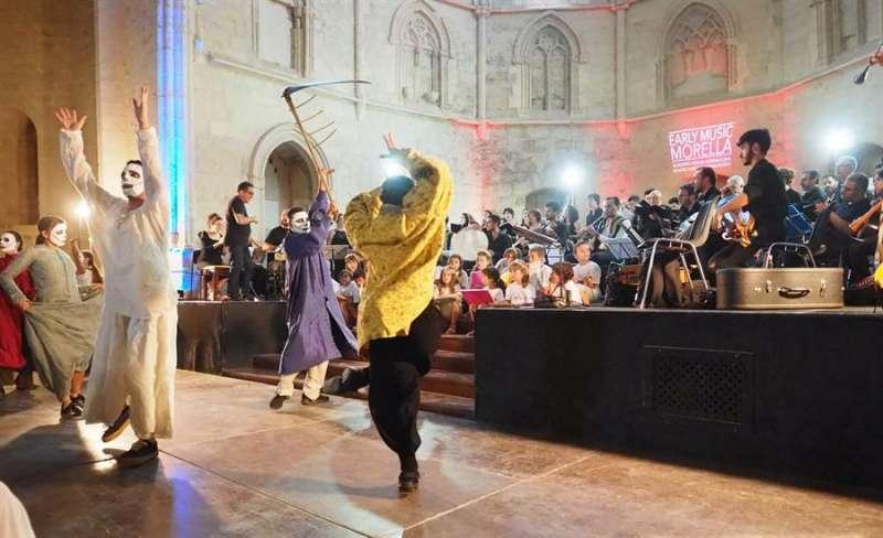 Una actuación del festival facilitada por la organización. EFE