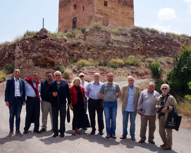 Els cronistes en la XIV Trobada celebrada a Torres Torres. EPDA