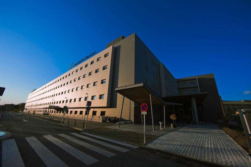 Fachada del Hospital de Manises. EPDA