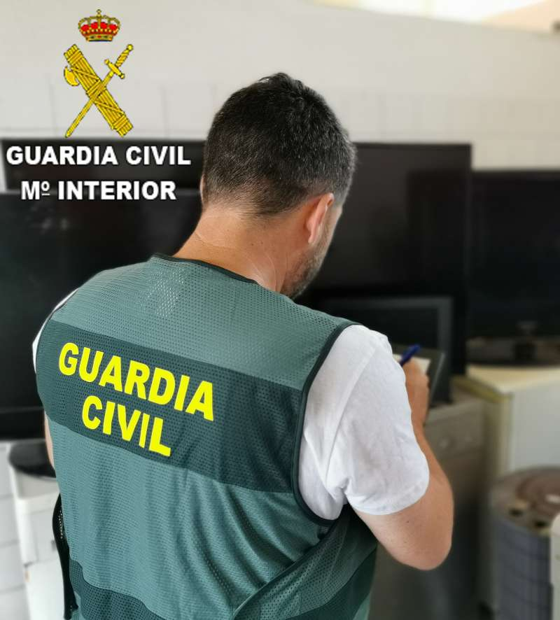 Un agente de la Guardia Civil. /  EPDA