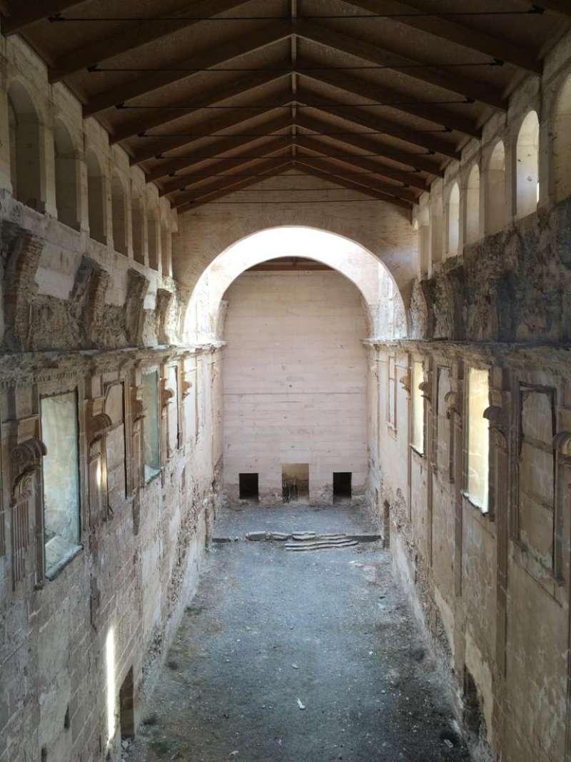 Interior de la iglesia mayor de la Cartuja. Foto: José A. PLanillo