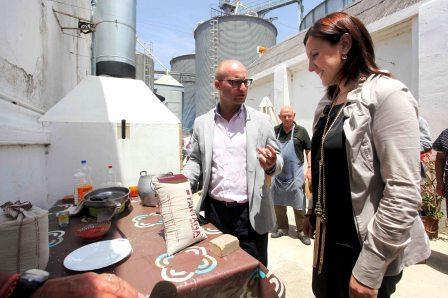 María José Català asiste a la presentación del nuevo arroz
