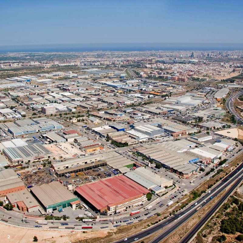 Áreas empresariales en la comarca de l