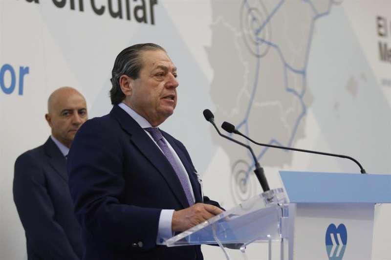 El presidente de la Asociación Valenciana de Empresarios (AVE), Vicente Boluda. EFE