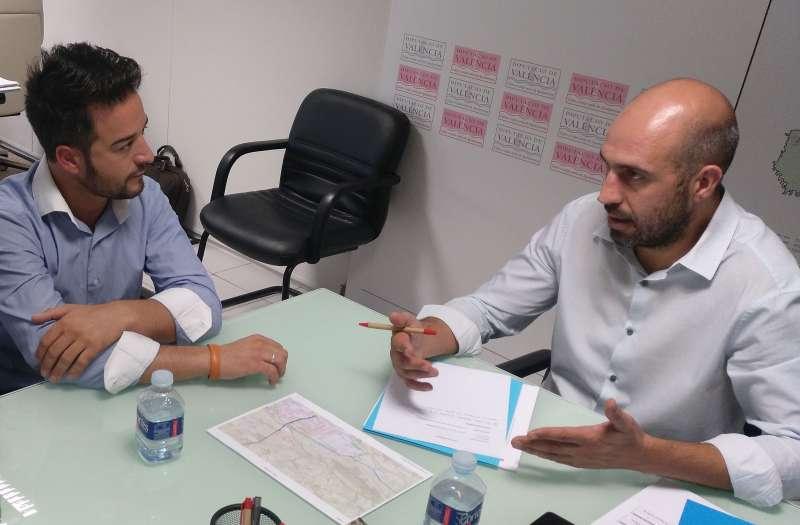 La Diputación mejorará el puente de Loriguilla para facilitar su desarrollo industrial y la creación de empleo.
