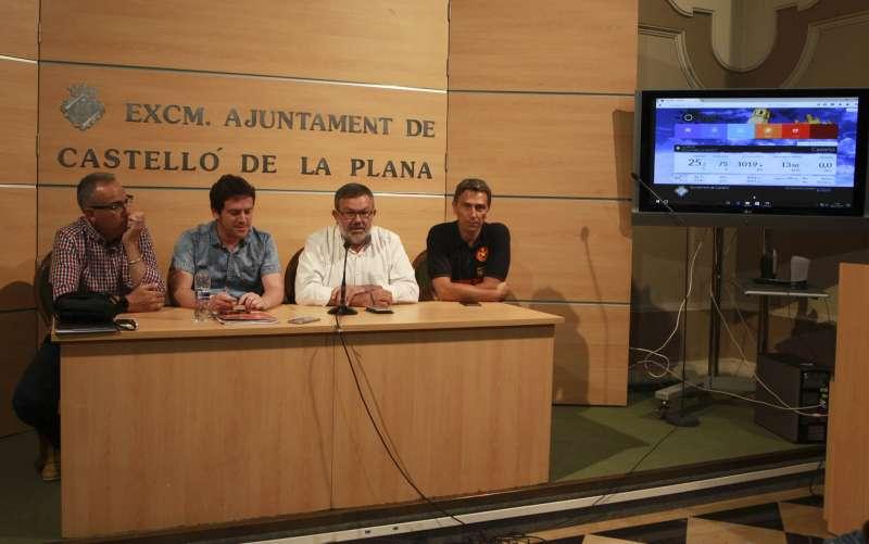 Presentació en roda de premsa a Castelló.