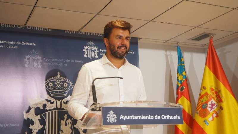 José Aix, portavoz del equipo de gobierno de Orihuela