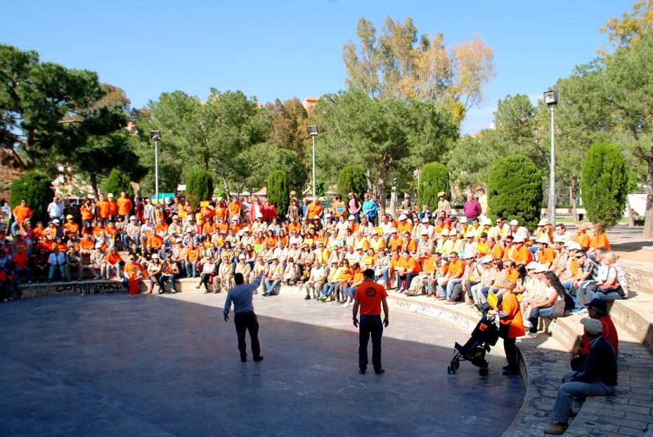 Un grupo de manifestantes. FOTO EPDA