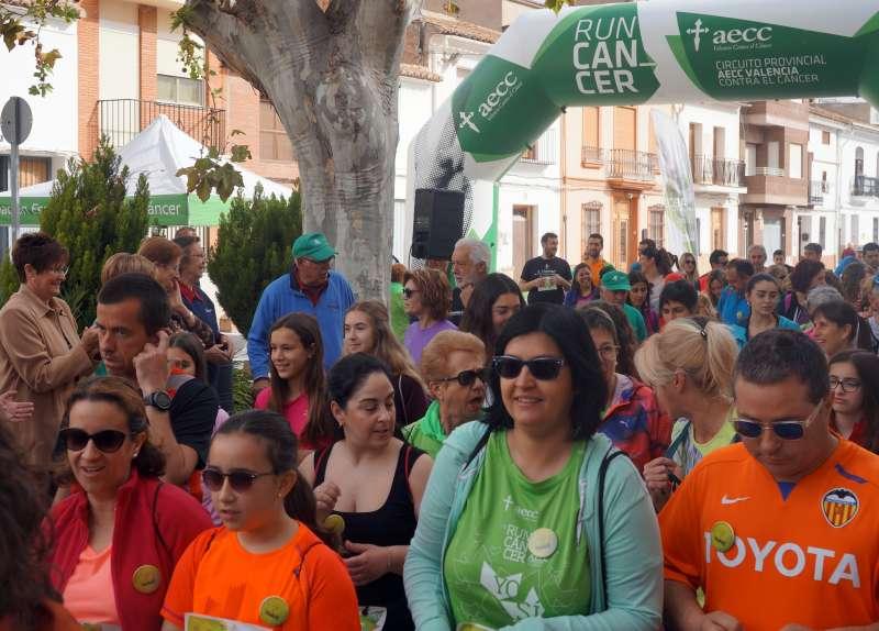 Participants de la marxa solidària d