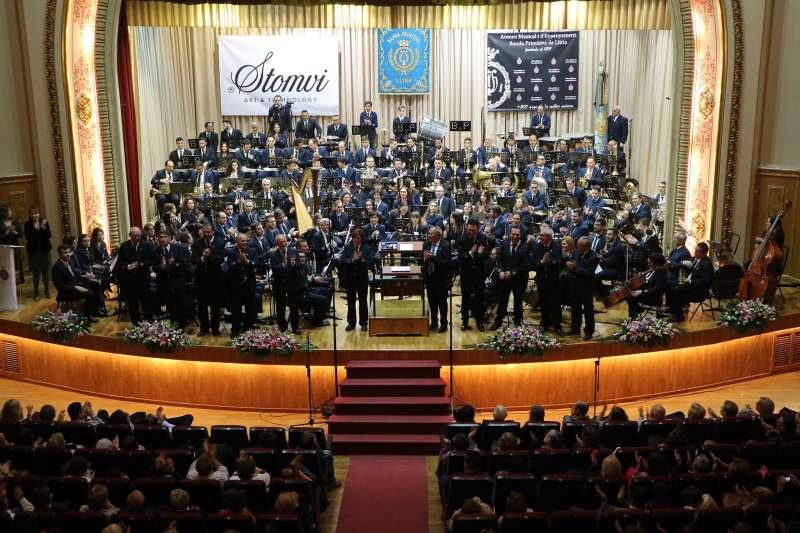 Reconeixement als músics amb 40 anys a la Banda
