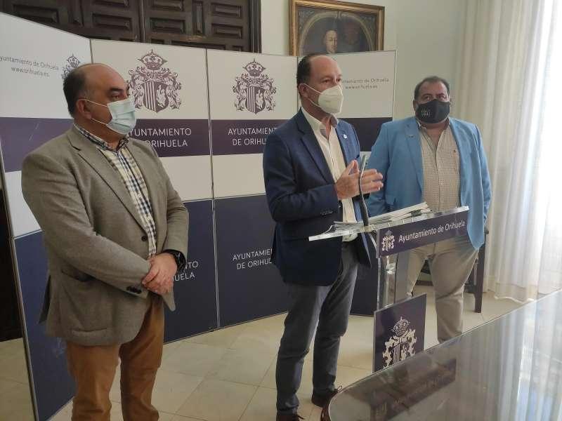 Rueda de prensa de Emilio Bascuña