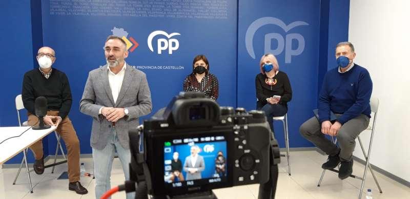 Junta directiva Provincial del PP en la nueva sede