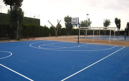 Pistas deportivas del colegio público San Sebastián. Foto: EPDA.