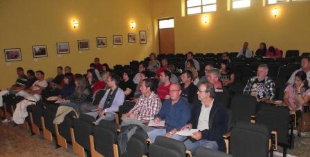 Asistentes a la charla organizada ayer por la Mancomunitat de l
