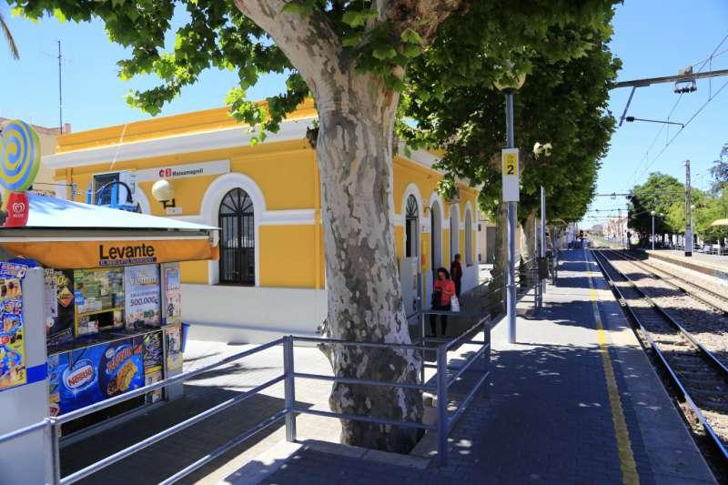 Estación de Massamagrell. EPDA