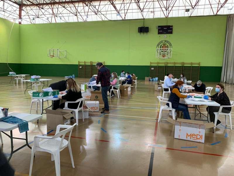 Voluntarios en Xirivella. EPDA