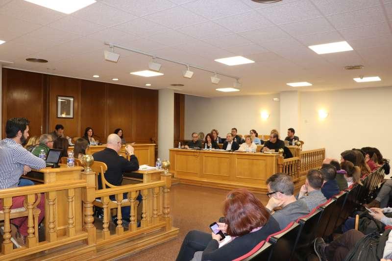 Pleno de Quart de Poblet. EPDA
