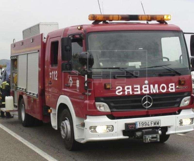 Un coche de bomberos. EFE/Archivo