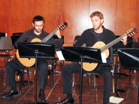 Germán Cotanda y Franc Oltra. Foto EPDA