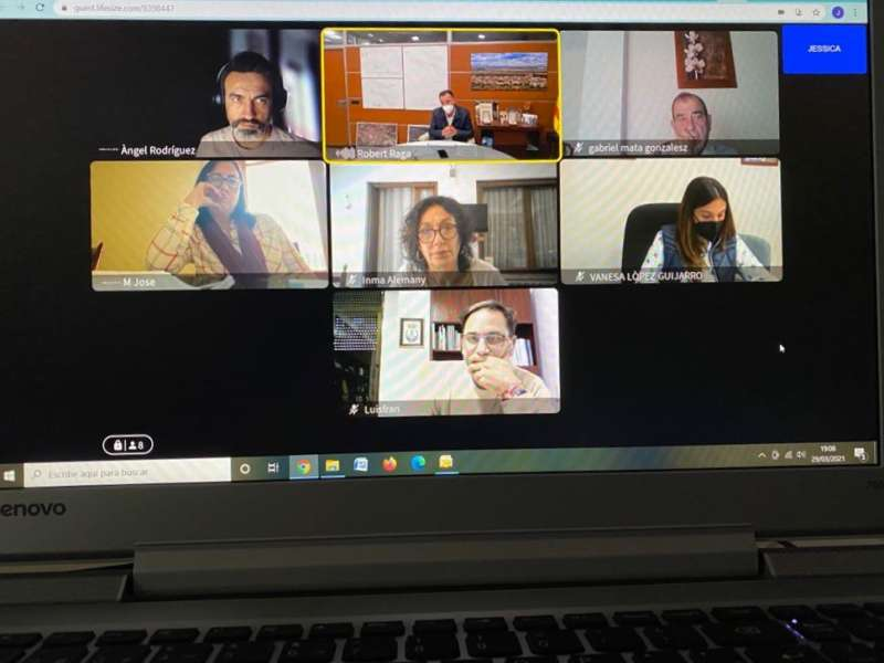 encuentros virtuales el CVI  EPDA