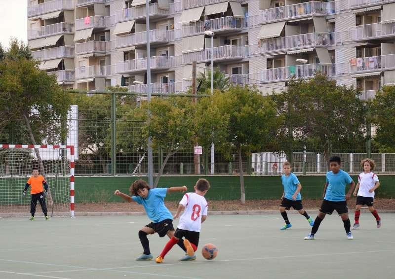 Copacabana jugando durante la celebración del Torneo.