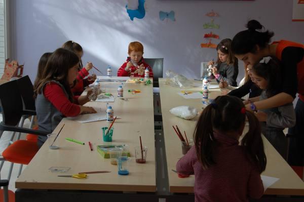 Una de las actividades para los más pequeños. EPDA