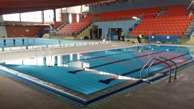 Obres realitzades a la piscina de Xirivella.