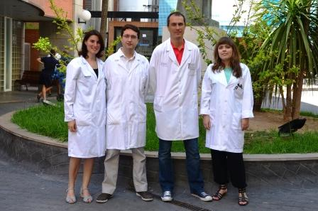 Investigadores de la Fundación para la investigación del Clínico de Valencia-Instituto de Investigación Sanitaria INCLIVA. Foto EPDA