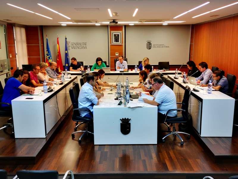 Pleno del Ayuntamiento de Riba.roja