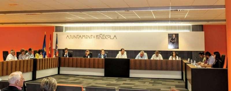 Corporación del Ayuntamiento de Peñíscola.