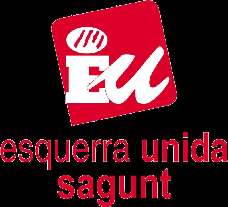 Logo de EU en Sagunt