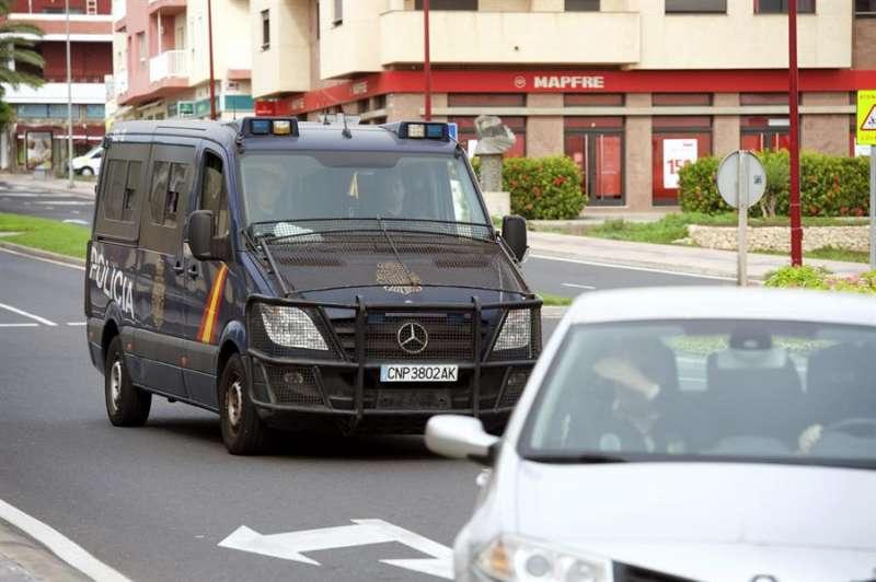 Imagen de un furgón policial. EFE/Archivo