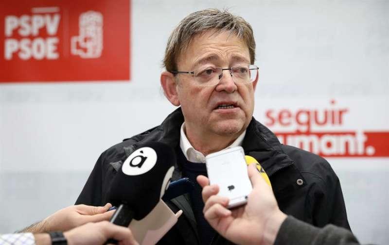 El president de la Generalitat y secretario general del PSPV-PSOE, Ximo Puig. EFE