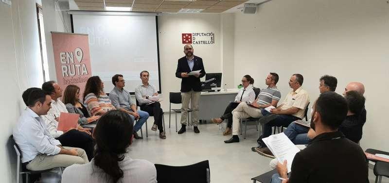 Pau Ferrando asistió al workshop de la Diputación