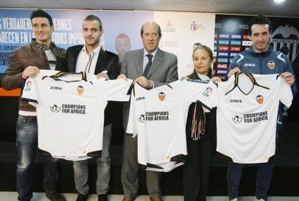 El Valencia presentando la iniciativa. FOTO TURISVALENCIA.ES