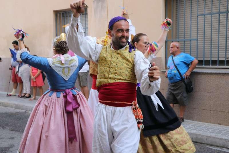 Danses tradicionals en les festes de Torrent. EPDA