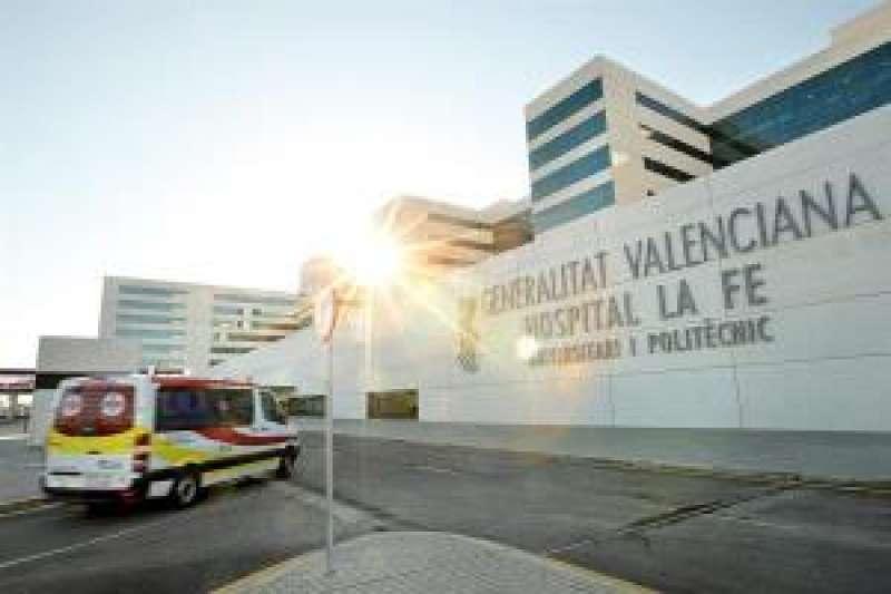 El Hospital La Fe de València, donde ha fallecido la mujer. EFE