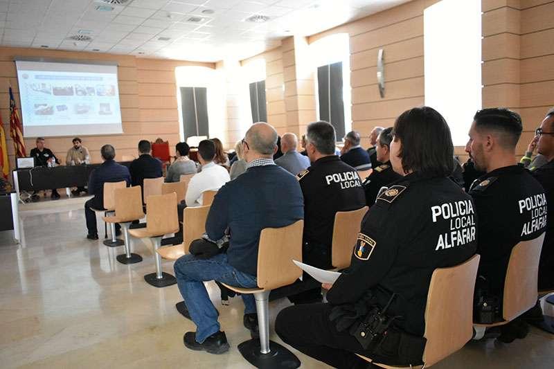 La Policía Local de Alfafar presenta su memoria anual