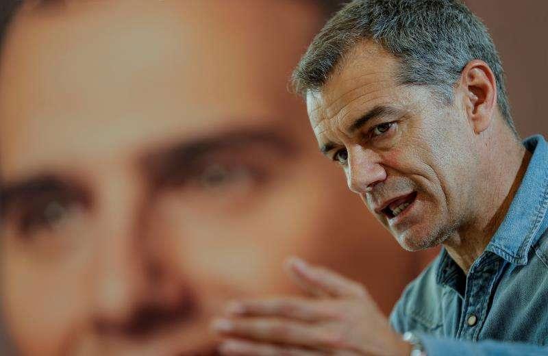 Entrevista con el candidato a la presidencia de la Generalitat por Ciudadanos, Toni Cantó. EFE