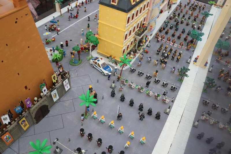 Piezas de Playmobil. EPDA