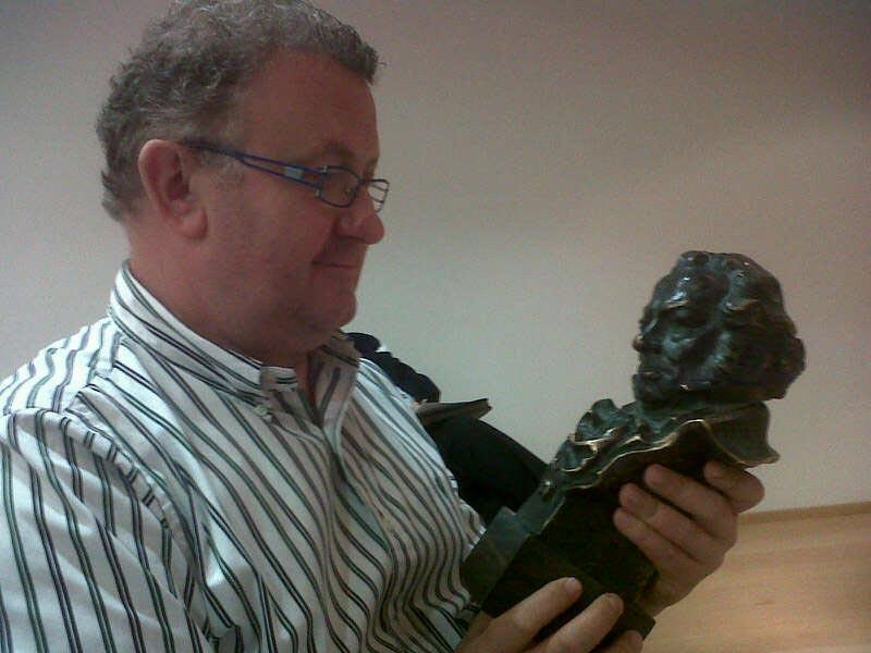 Murgui merece un premio Goya por toda una vida dedicada al trabajo. FOTO EPDA