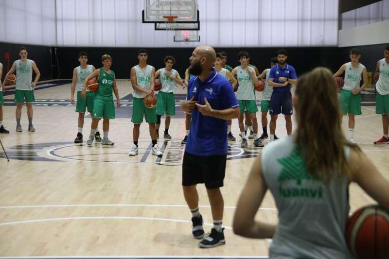 Jugadores del Valencia Basket. EPDA