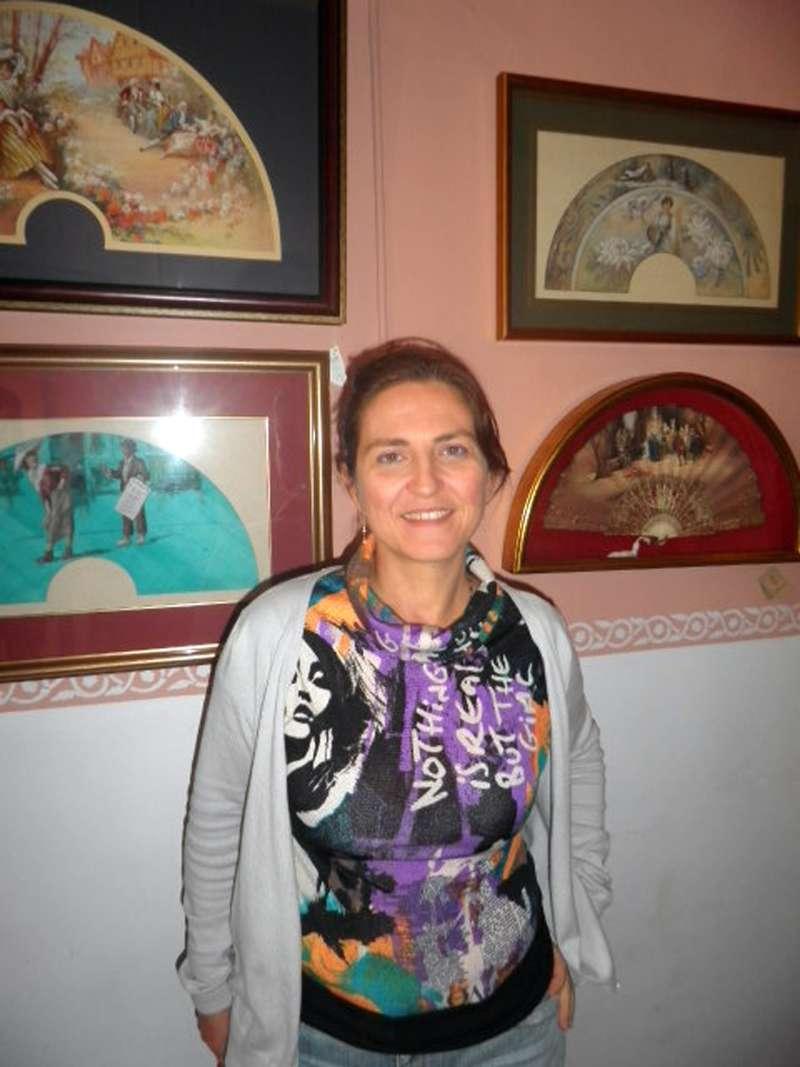 María Luisa Andrés de Abanicos Andrés Pascual.