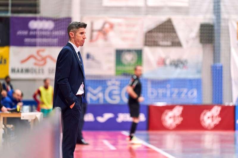 Manuel Collado entrenador de futbol sala