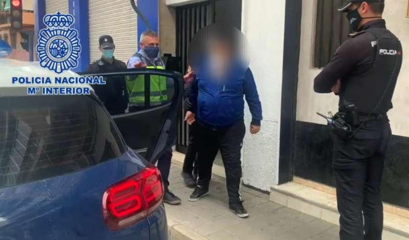 Los detenidos, en una imagen de la Policía.