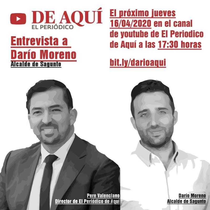 Pere Valenciano y Darío Moreno. EPDA
