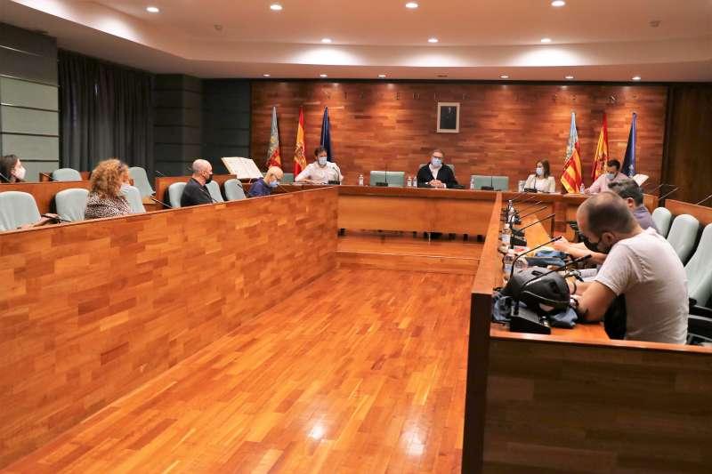 Sala de plenos del Ajuntament de Torrent