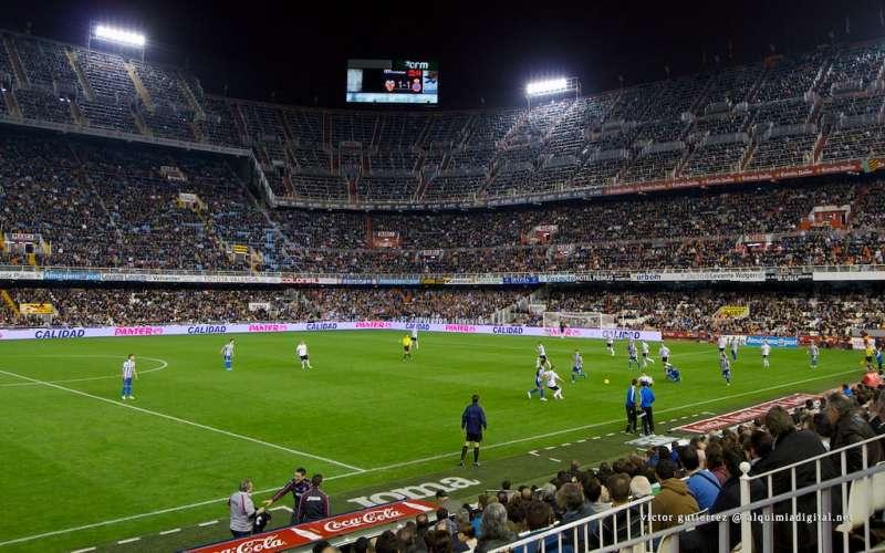 Estadio de Mestalla. EPDA
